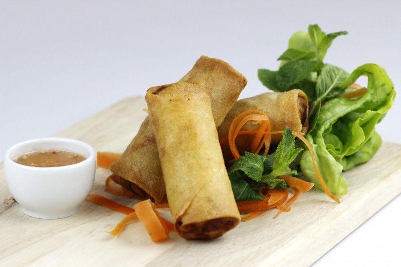 Nems Thaï aux légumes