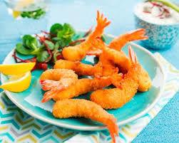 Tempoura aux crevettes